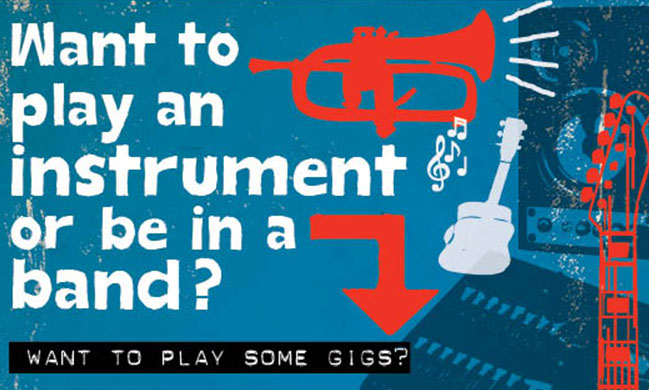 Want to learn an instrument?